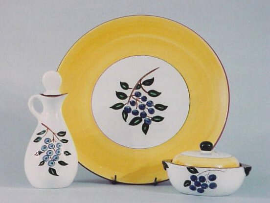 : blueberry dinnerware set - pezcame.com